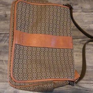 EUC Authentic COACH messenger / laptop bag